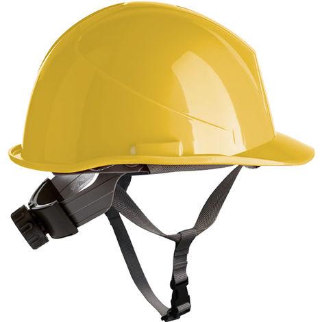 Casco obra con rosca Safetop ER-Safety 80534 Amarillo