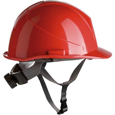 Casco obra con rosca Safetop ER-Safety 80534 Rojo