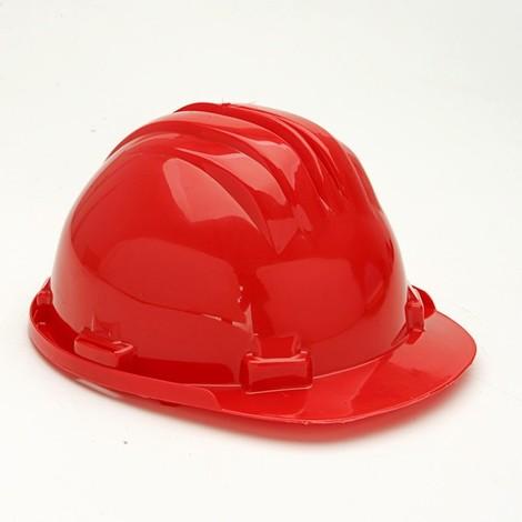Casco Obra Homologado Ajustable Rojo - Climax - 5-Rg..