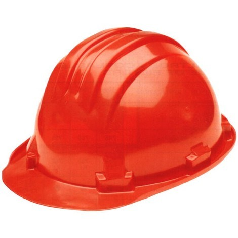 Casco Obra Homologado Rojo - Climax - 5-Rs..