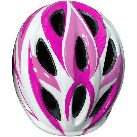 Casco protector ajustable para deportes al aire libre para ninos, casco de monopatin, casco de ventilacion resistente al impacto para 2-12 anos, rosa