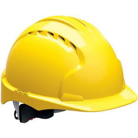 Casco protector -EVO3- amarillo