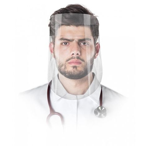 Casco protector facial, visera ajustable Nuevo