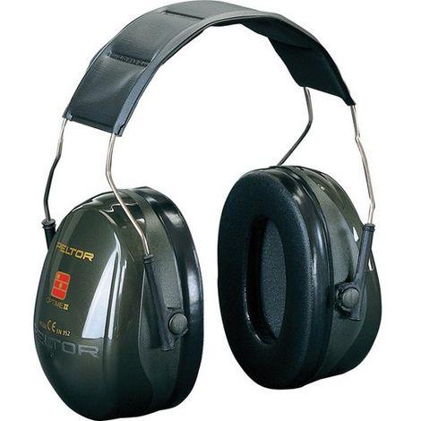 Cascos protectores de oídos 3M™ Peltor™ -Optime™ II H520A-