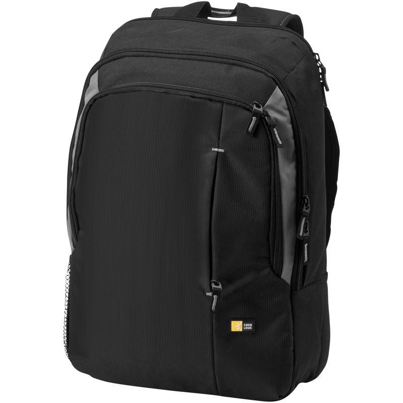 Image of 17in Laptop Backpack (31 x 13 x 44 cm) (Solid Black) - Case Logic