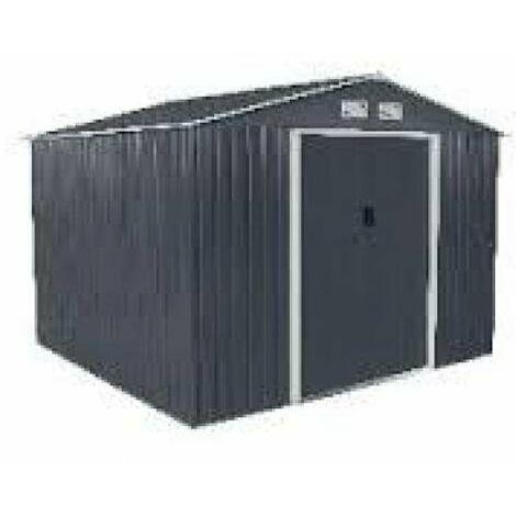 Caseta Cobertizo Metal Jardin Ecoline 8X8 Duramax