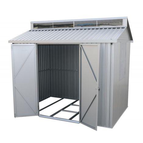 Caseta de Aluminio medias 182x263x230 cm. doble grosor 0,40 mm. Duramax