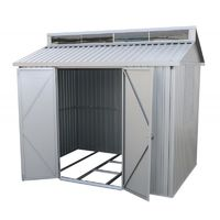 Caseta de Alumionio medias 182x263x230 cm. doble grosor 0,40 mm. Duramax