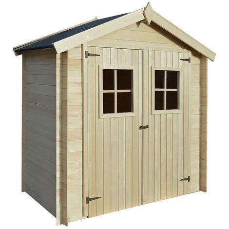 Caseta de exterior para el jardín 2x1m de madera 19mm