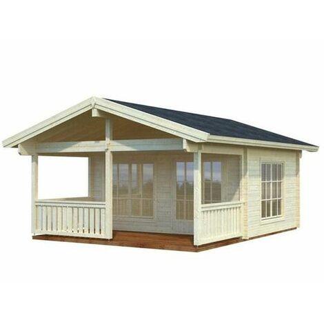 Caseta de madera Agneta Palmako 18,8+12,5 m2
