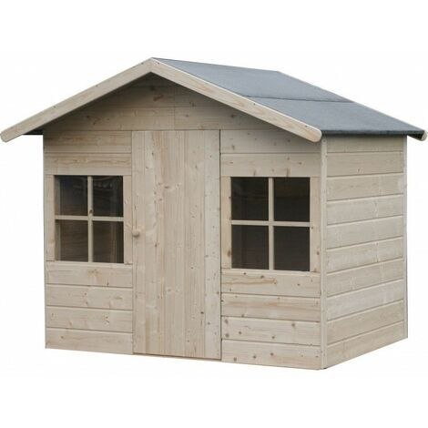 Caseta de madera - Balu (12 mm, 152 x 110 cm, 2.42 m²)