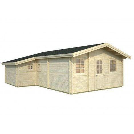 Caseta de madera Emily Palmako 39,2 m2