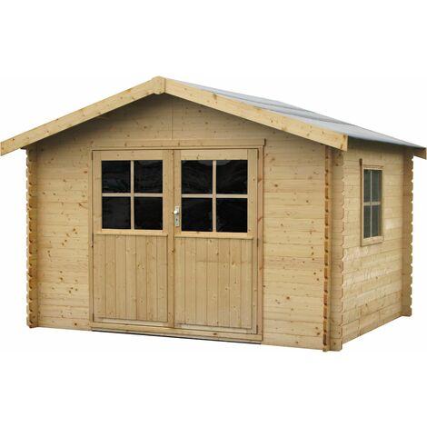 Caseta de madera Flodavil Decor et Jardín 28mm