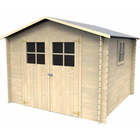Caseta de madera - Galerna (19 mm, 270 x 270 cm, 7.24 m²)