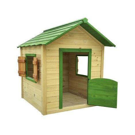 "main image of ""Caseta de madera Infantil Outdoor Toys KNH1001 116x138x132cm"""