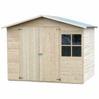 Caseta de madera - Loguec (12 mm, 240 x 180 cm (4.42 m²)