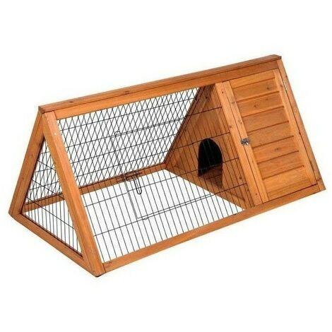 Caseta de madera para conejos nº2 100x50x41 cm