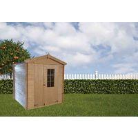 Caseta de madera para jardín CALYPSO 4,5m²