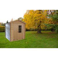 Caseta de madera para jardín CALYPSO 4m²