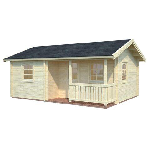 Caseta de madera Sandra Palmako 21,5+3,7 m2