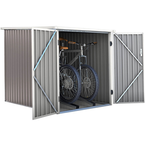 Caseta de metal para bicicleta DALLAS BIKE - 2.8 M²