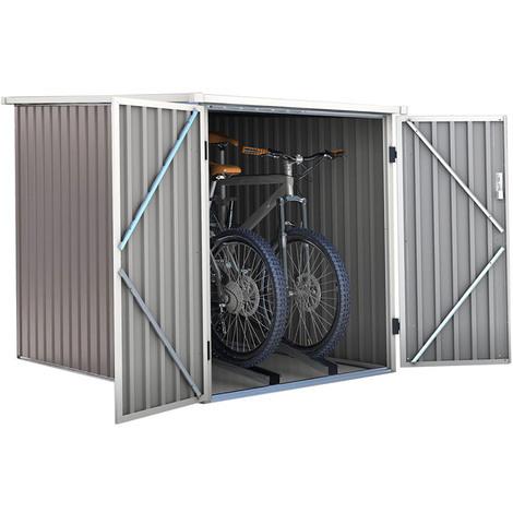 "main image of ""Caseta de metal para bicicleta DALLAS BIKE - 2.8 M²"""