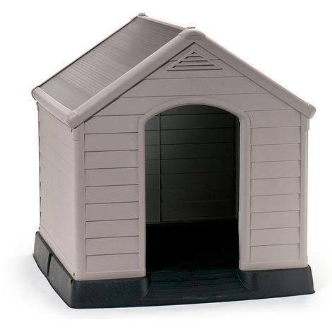Caseta de PVC con suelo para perro