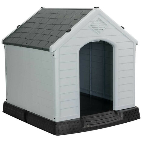 Caseta de Resina para Perros 66,5x73,6x69,5cm 7house