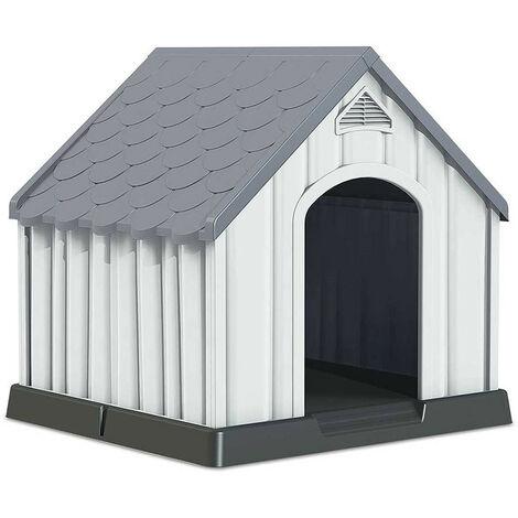 Caseta de Resina para Perros 92x87x91cm 7house