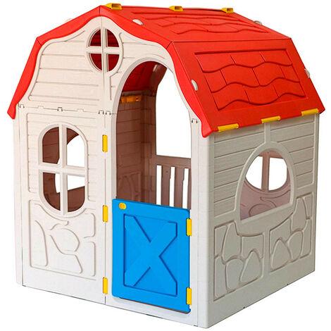 Caseta Infantil de Juegos Plegable 115x91,5x98cm RAM