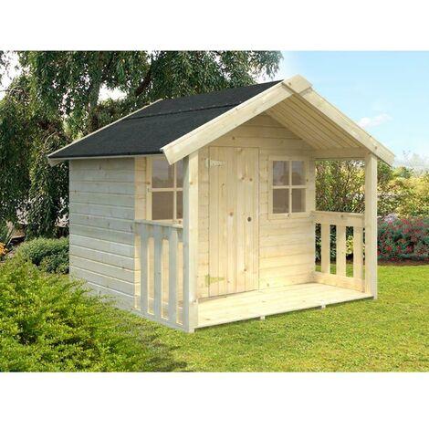 Caseta infantil de madera Felix 1,9 m2
