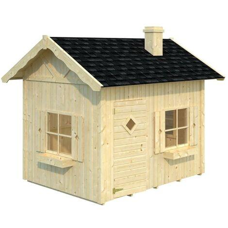 Caseta infantil de Madera Grete 3,7 m2 Palmako