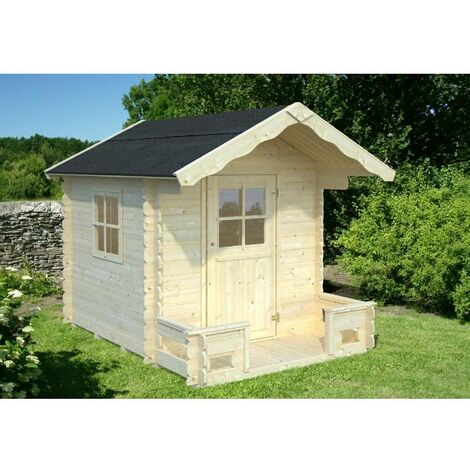 Caseta infantil de madera Sam 2,4 m²