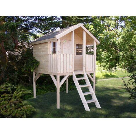 Caseta infantil de madera Toby 2,1 m²