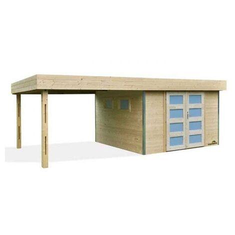 Caseta LOUNJ con porche 600 x 300 x 237,5 cm