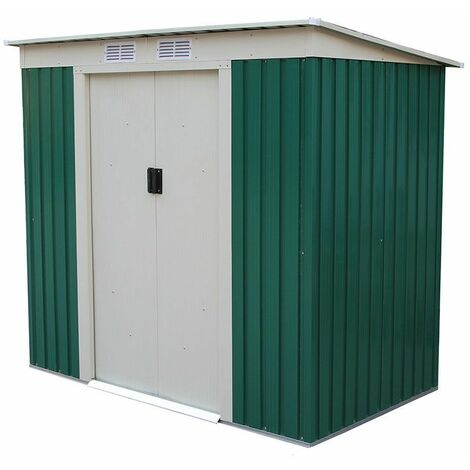 Caseta Metálica Buckingham (Verde) - 2,43 m² Ext. - KIS12909 - GARDIUN