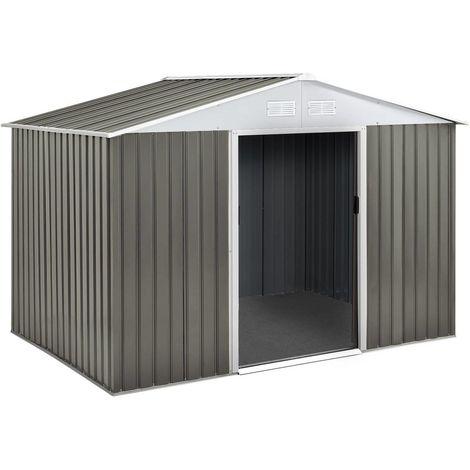 Caseta metálica para jardín Dallas 15,16 m²