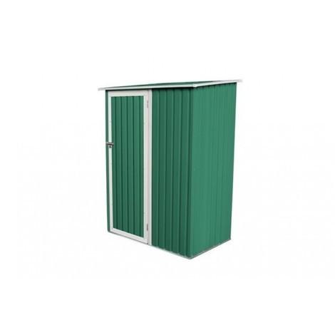 "main image of ""Caseta orden 143x89x186cm con 1 puerta metálica color verde GARDIUM"""