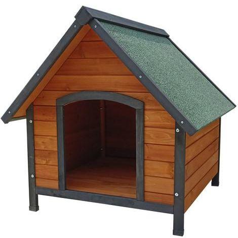 Caseta para perro de madera Sweet Gardiun 72 x 76 x 76 CM