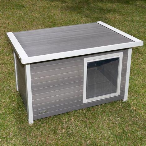 Caseta para perros PLASTIC ECO B 98,5 x T 74 x H 63,5 cm