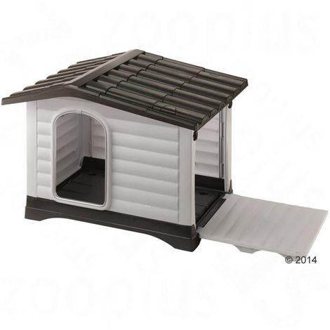 Caseta para perros plastic L 88 x T 72 x H 65 cm