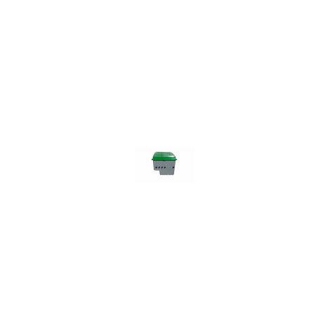 Caseta para piscinas semienterrada (Piscina 4x8 ó 50 m3) + Filtro D.500 Neptuno + Válvula selectora + Bomba 3/4 HP