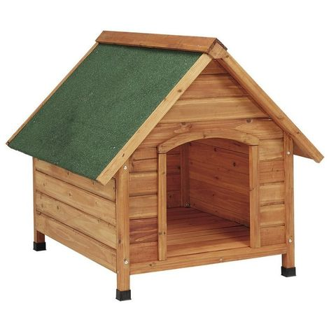 Caseta perros madera 2 aguas Grande Copele