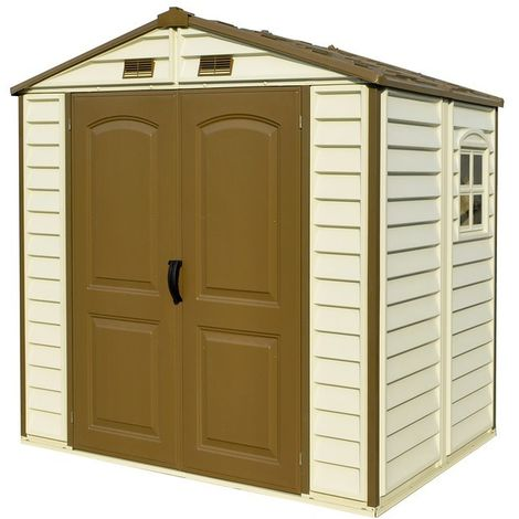 Casetas de jardín. Medidas 168x245x220 cm. Superficie de 4,12 m2