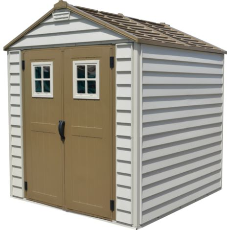 Casetas de PVC. Medidas: 208x205x234 cm. Superficie 4,29 m2.