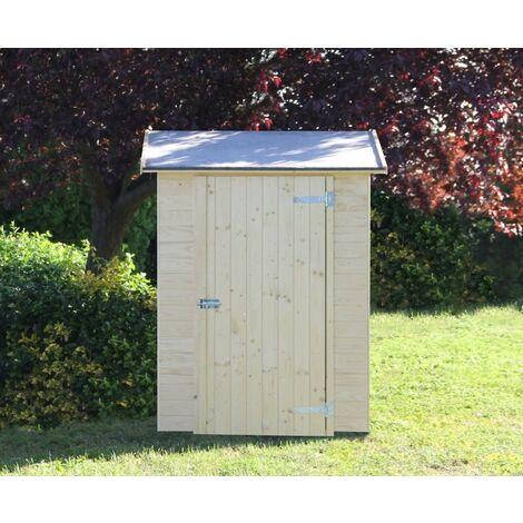 Casetta armadio susy porta attrezzi in legno da giardino gartenpro 120x67x186h - Gartenpro