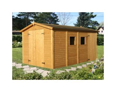 Casetta Giardino In Legno : Casetta da giardino in legno d abete nordico 16mm 273x370 cm