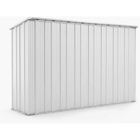 Casetta giardino Box in lamiera di Acciaio Zincato 307x100cm x h1.92m - 75KG - 3.07mq