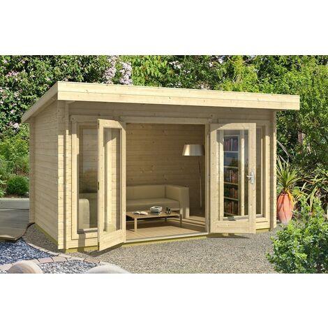 Casetta giardino dorset legno nordico gartenpro 408x268x234/211h - Gartenpro