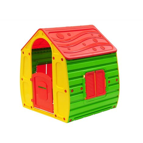 Casetta gioco per bimbi cm 102x90x109h magical house casa for Casetta giardino bimbi usata